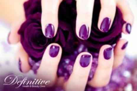 Definitive Health and Beauty - Shellac Manicure - Save 68%