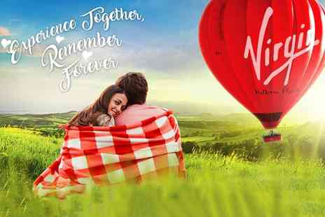 Virgin Balloon Flights - Virgin hot air balloon experience with Champagne for one or two - Save 20%