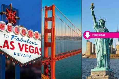 Tour Center - Eight night New York, Las Vegas and Los Angeles break with flights - Save 56%