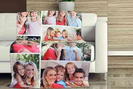 Eastmon Online - Personalised photo blanket - Save 87%