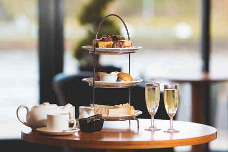 Copthorne Hotel Newcastle - Afternoon tea for two with a gin and tonic or a glass of Prosecco each - Save 52%
