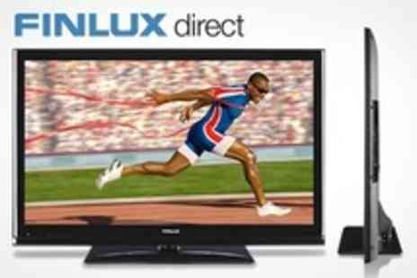 Finlux Direct - Finlux 47 1080P 3D LED TV With Eight 3D Glasses Plus 12-Month Warranty Extension or Wall Bracket or Glass Stand - Save 0%