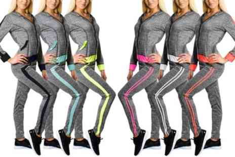 Groupon Goods Global GmbH - Womens Two Piece Tracksuit - Save 0%