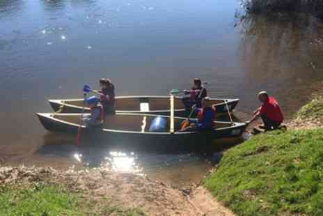 Ross on Wye Canoe Hire - Full Day Canoe Trip for Four - Save 62%