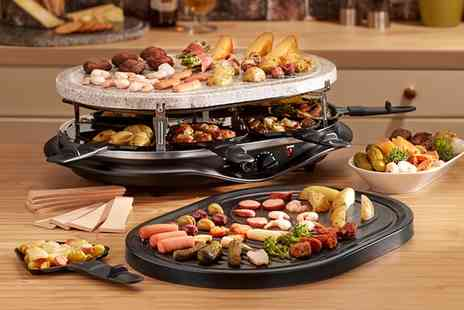 Groupon Goods Global GmbH - Cooks Professional Stone Topped Raclette Grills in a Choice of Design - Save 63%