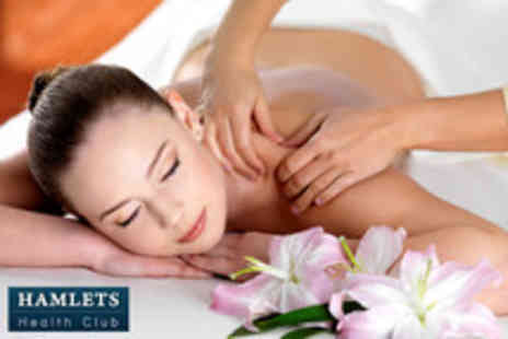 Hamlets Health Club - 1 hour Deep Tissue, Touch therapy Kodo, or sports massage - Save 68%