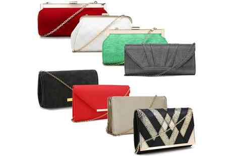Groupon Goods Global GmbH - Classic Evening Bags in Choice of Design and Colour - Save 0%