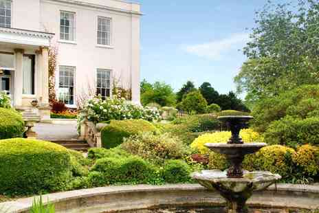 The Mount Somerset Hotel - Peaceful spa package with bubbly - Save 30%