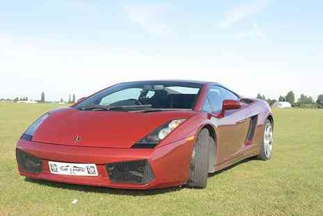 Supercar Test Drives - Weekday or weekend  three lap Lamborgini driving experience - Save 74%
