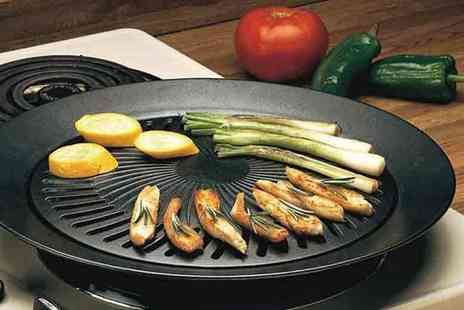 Chimp Electronics - Smokeless stovetop BBQ grill - Save 80%