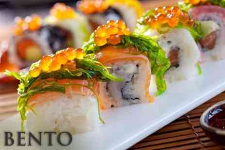 Bento - Sushi Meal For Two With Bottle of Sake - Save 59%