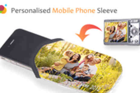 Foboco - Personalised Mobile Phone Sleeve Using Your Own Photo - Save 80%
