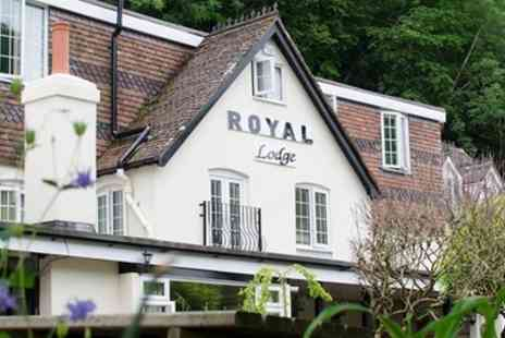 The Royal Lodge - Traditional or Sparkling Afternoon Tea for Up to Four - Save 21%
