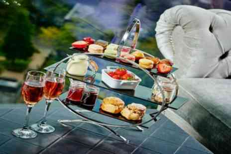 The Grand Harbour Hotel - Champagne Afternoon Tea for Two or Four - Save 42%