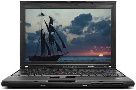 Portable Universe - Refurbished Lenovo ThinkPad X201 Intel Core i5, 4GB Ram, 128GB SSD Windows 7 Pro With Free Delivery - Save 0%