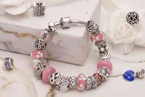 Sarroff Designs UK - Mestige Memory Charms Bracelet with Crystals from Swarovski With Free Delivery - Save 79%