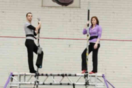 Aerial Edge - Three Hour Flying Trapeze Workshop - Save 58%