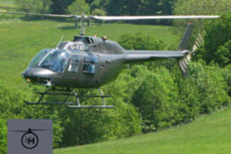 HH Helicopters - Half hour helicopter experience flying over the Iron Bridge and Severn - Save 64%