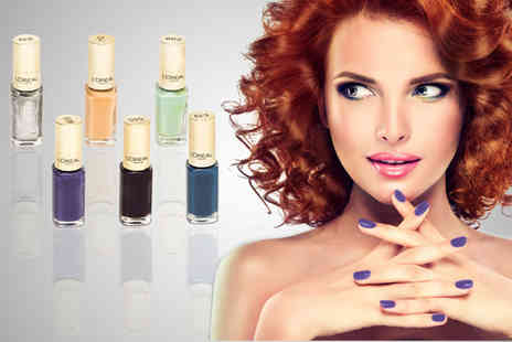 Ckent Ltd - Five LOreal colour nail polishes - Save 38%