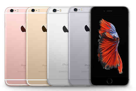 GPSK - 16GB, 64GB or 128GB refurbished Apple iPhone 6s choose from four colours - Save 45%