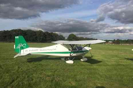 Membury Flying Club - One or two hour microlight flying experience - Save 58%