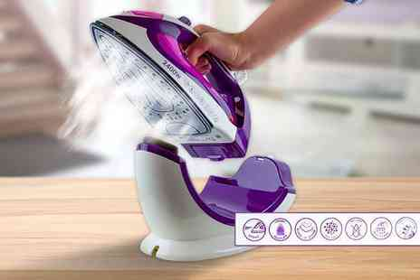 Groundlevel - Steam iron which works both cordless and corded - Save 75%