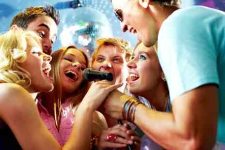 The Old School Yard - Two Hour Private Karaoke Booth Hire with Jug of Rum Punch and 12 Inch Pizza for Up to 15 - Save 87%
