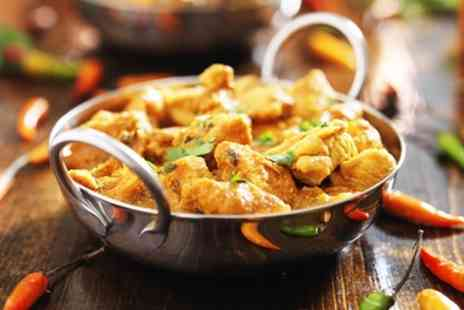 Haweli of Teddington - Two Course Indian Dinner with Side Dish for Two or Four - Save 59%