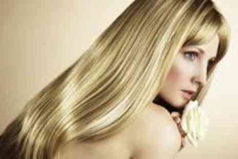 Ivissa Beaute - Full head of highlights or colour, plus a wash, cut and finish with a conditioning treatment - Save 77%