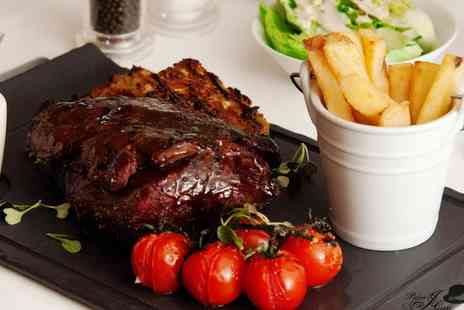 The Old Bell Inn - Chateaubriand Steak with Sides and Wine for Two or Four - Save 36%