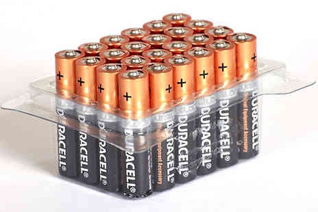Mscomputers ltd - Duracell AA or AAA Batteries Pack of 12, 24, 40, 48 or 60 - Save 56%
