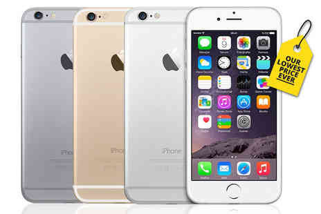 Nex Buy - 16GB, 64GB or 128GB refurbished Apple iPhone 6 choose from three colours - Save 50%