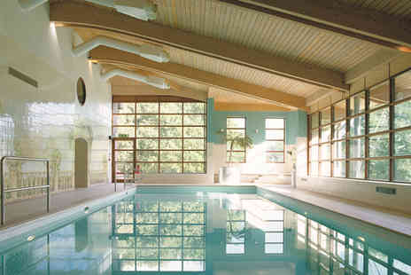 Denham Grove Hotel - Buckinghamshire stay for two including dinner, wine, breakfast, leisure access and late check out - Save 40%