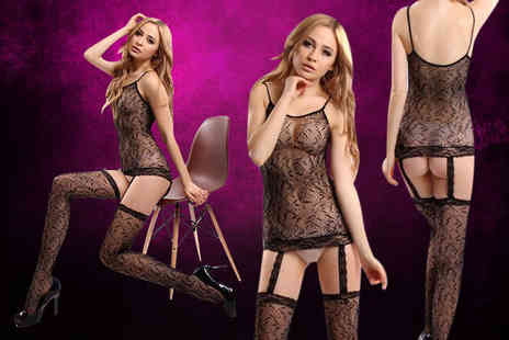 GameChanger Associates - Sexy suspender bodystocking lingerie - Save 73%