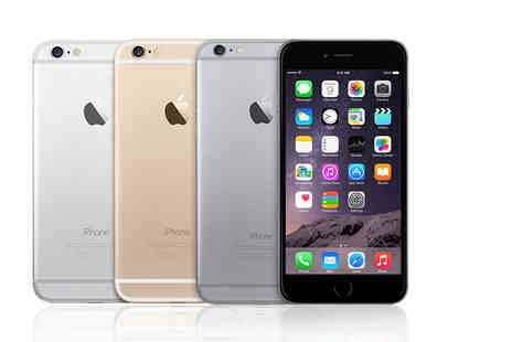 Nex Buy - 16GB, 64GB or 128GB refurbished Apple iPhone 6 Plus choose from three colours - Save 40%