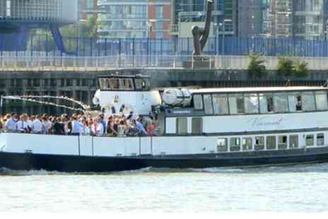 Thames Party Boats - London Boat Party and Cruise for Up to Four - Save 55%