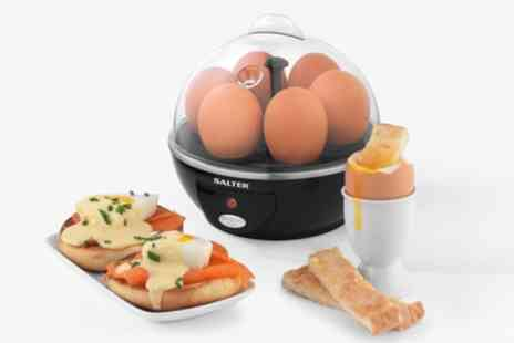 Groupon Goods Global GmbH - Salter EK2783 Electric Boiled Poached Egg Cooker, 430W - Save 66%