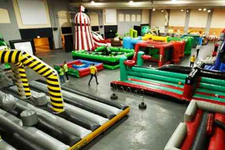 Wacky World Parks - Entry into Wacky Bounce for One or Two - Save 31%