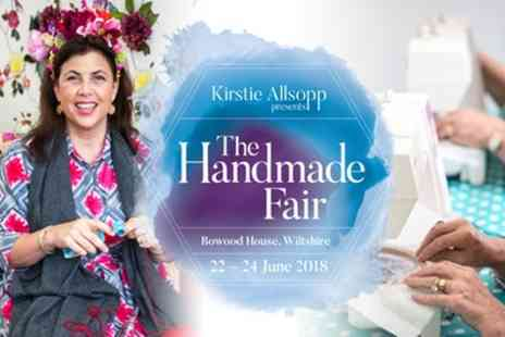 Brand Events - Ticket to The Handmade Fair on 22 to 24 June - Save 39%