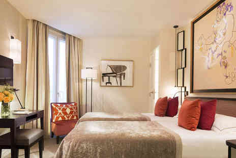 Hotel Balmoral - Four Star 19th Century Boutique Stay For Two near Champs Elysees - Save 55%