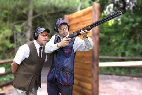 Adventure 001 - Clay pigeon shooting experience choose from ten locations - Save 51%