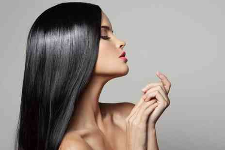 LM Hair and Beauty - Hair botox treatment including wash, cut, and blow dry - Save 55%