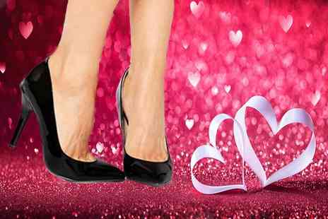 Forever Love Me - Pair of black heeled court shoes - Save 63%