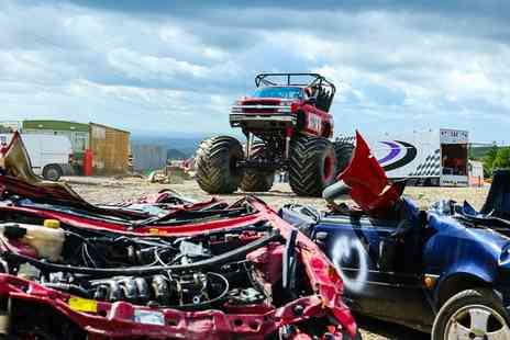 Wicked Adventures - Monster Truck Driving Experience with Optional Tank Driving for One or Two - Save 64%
