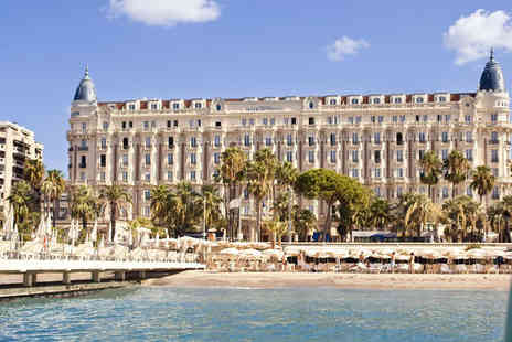 InterContinental Carlton - Lavish Five Star Glamour in Cannes for two - Save 80%
