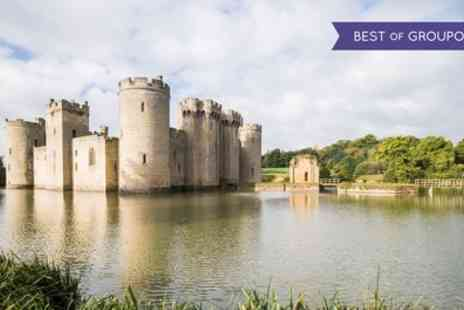 Abbey Tours - Bodiam Castle, Battle and Hastings Day or Bath and Stonehenge Tour - Save 52%