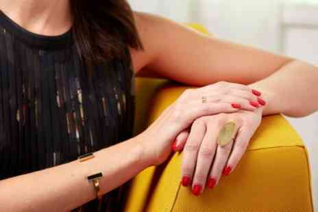 Uptown Beauty - Manicure or Express Pedicure or Both - Save 53%