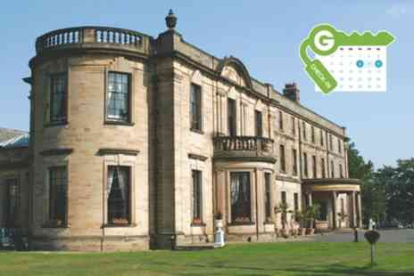 Beamish Hall Country House Hotel - Double Room for Two with Breakfast, Late Check Out and Optional Dinner - Save 22%