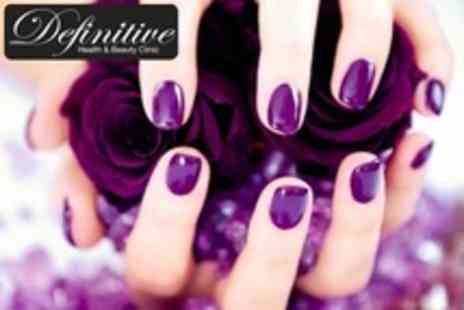 Definitive Health & Beauty - Shellac Manicure - Save 68%