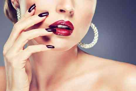 London Ladies Hair & Beauty Clinic - Shellac manicure or pedicure or both with a hot drink - Save 60%